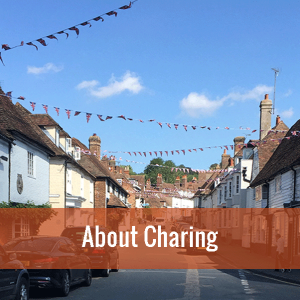 Clock this image of Charing High Street to find out more about Charing in Kent